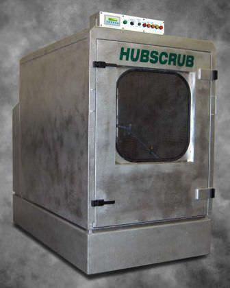 Medical sterilizer / hydrogen peroxyde / front-loading / low-temperature Model 20/70 HUBSCRUB