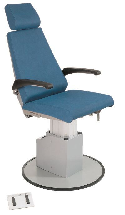 ENT examination chair / electromechanical / height-adjustable / 2-section 3.SA Heinemann Medizintechnik