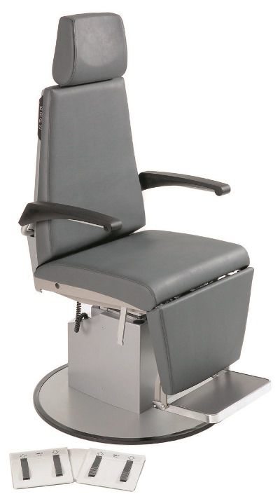 ENT examination chair / electrical / height-adjustable / 3-section 5.SA Heinemann Medizintechnik