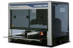 Laboratory liquid handling robotic workstation STARlet Hamilton Robotics