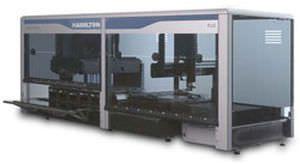 Laboratory liquid handling robotic workstation STARplus Hamilton Robotics