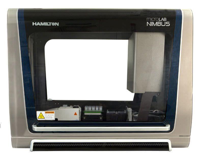 DNA library preparation workstation / PCR / automated Microlab® NIMBUS™ Hamilton Robotics