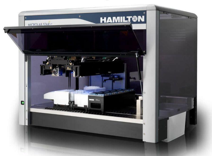 DNA library preparation workstation / PCR / automated / 1-station REM e STARlet Hamilton Robotics