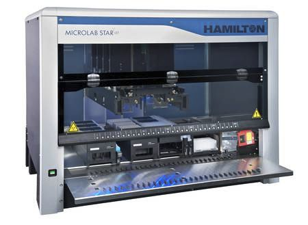 PCR workstation / automated / 1-station PCR setup STARlet Hamilton Robotics