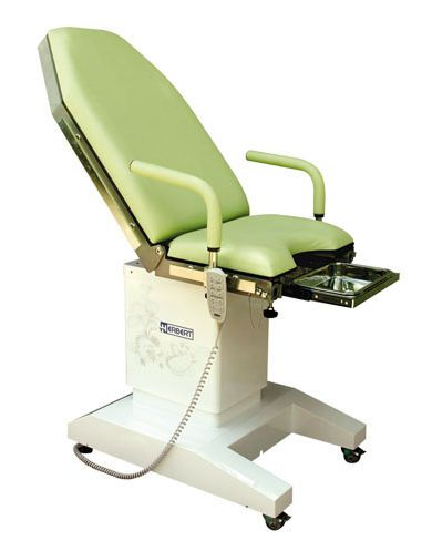 Gynecological examination table / electrical / on casters / height-adjustable HG 10W Herbert