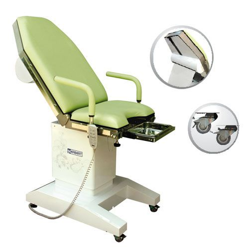 Gynecological examination chair / electrical / height-adjustable / on casters HG 10WR Herbert