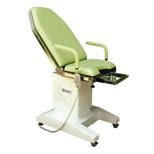 Gynecological examination table / electrical / height-adjustable / on casters HG 10S Herbert