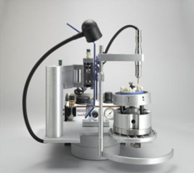 Dental laboratory milling machine / bench-top / with electric micromotor EXACTO C Heimerle + Meule