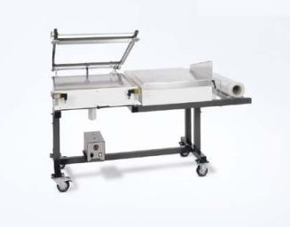 Stainless steel packaging table for central sterilization units (mobile) hp 630 WS hawo