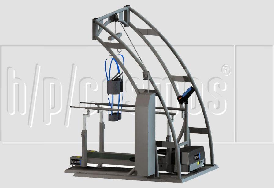 Walking rehabilitation system / computer-based airwalk® h/p/cosmos sports & medical