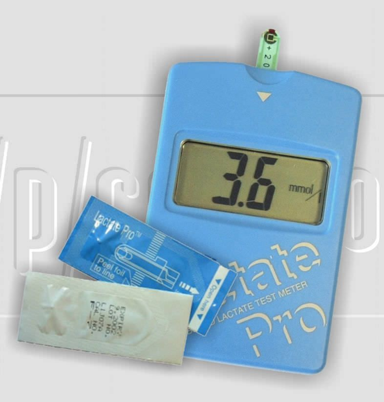 Blood lactate meter lactate pro™ h/p/cosmos sports & medical