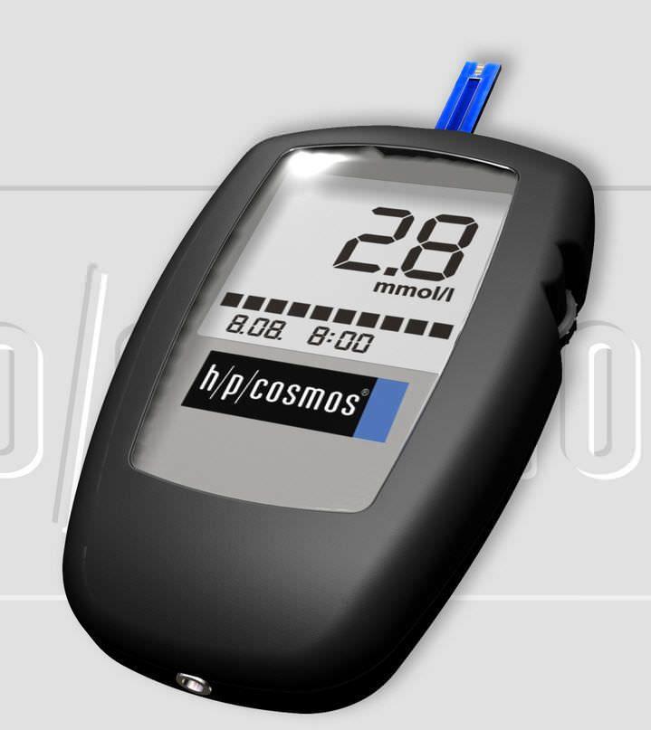 Blood lactate meter sirius h/p/cosmos sports & medical