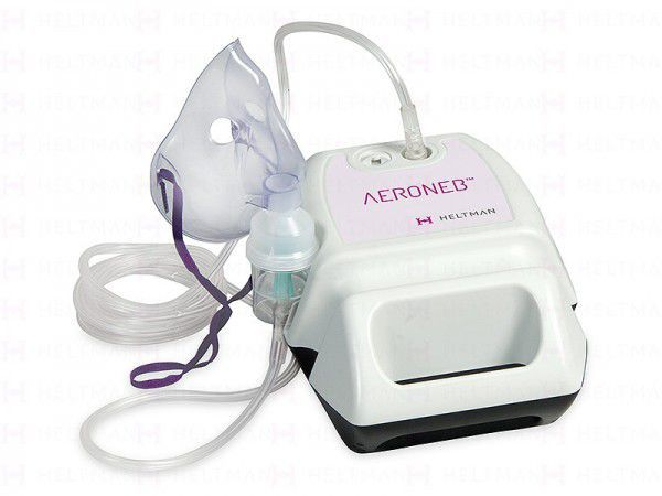 Pneumatic nebulizer / with compressor / with mask 0.40 mL/mn | Aeroneb™ Heltman Medikal AS