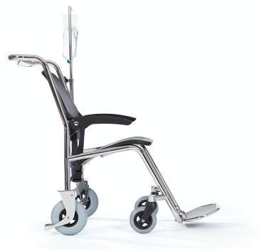 Transfer chair with legrest HAMMAM MEDICAL