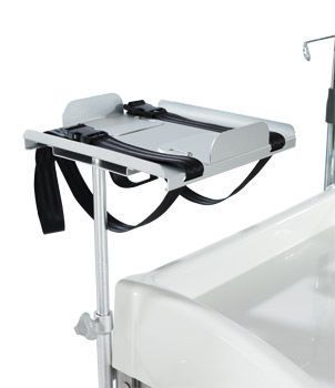 Emergency cart / multi-function / stainless steel / 6-drawer HAMMAM MEDICAL