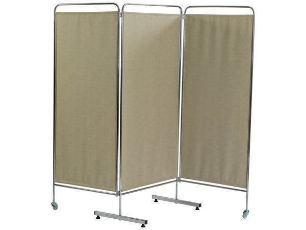 Hospital screen / on casters / 3-panel HAMMAM MEDICAL