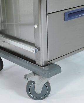Storage trolley / anesthesia HAMMAM MEDICAL