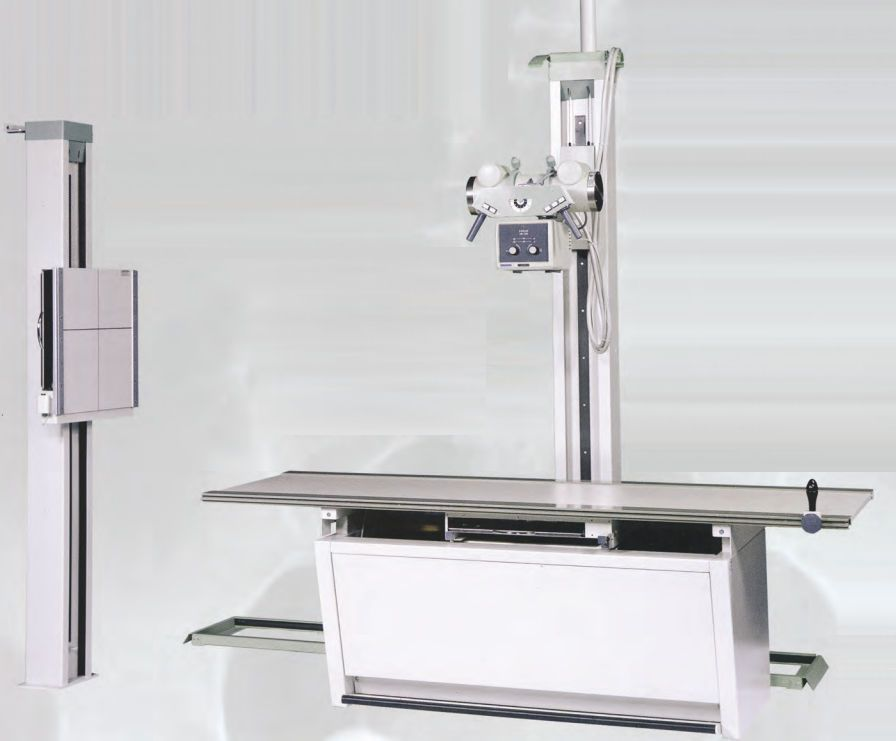 Radiography system (X-ray radiology) / analog / for multipurpose radiography / with vertical bucky stand V-Rad System GTR Labs