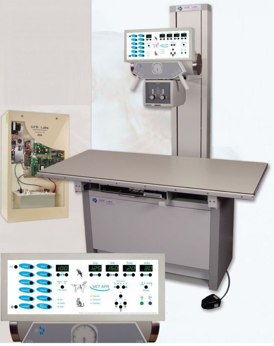 Analog veterinary X-ray radiology system / with table / with tube-stand Vet Rad System GTR Labs