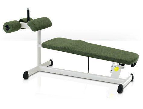 Abdominal crunch bench (weight training) / abdominal crunch / rehabilitation / adjustable 00003215 gym80 International
