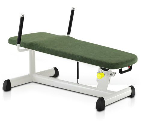 Abdominal crunch bench (weight training) / abdominal crunch / rehabilitation / adjustable 00003232 gym80 International