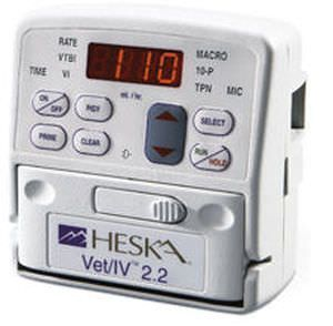 Volumetric infusion pump / 1 channel / veterinary 0.1 - 999 mL/hr | Vet/IV Heska