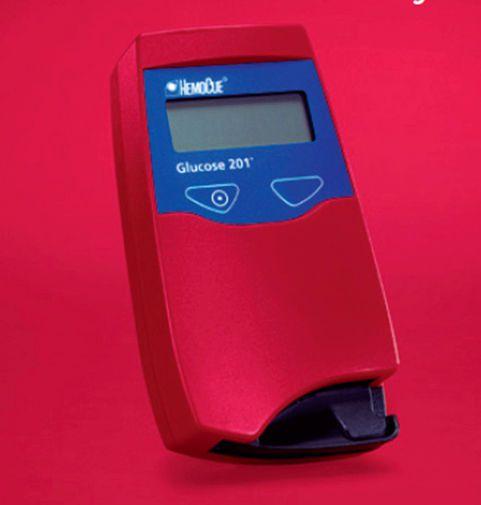 HbA1c blood glucose meter / wireless 0 - 400 mg/dL | HemoCue® Glucose 201+ HemoCue