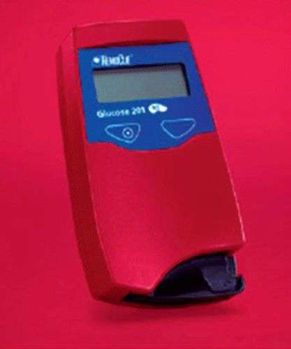 HbA1c blood glucose meter / wireless 0 - 500 mg/dL | HemoCue® 201 RT HemoCue