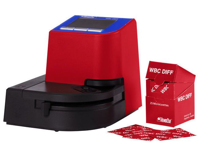 White blood cell cell counter / differential / digital / bench-top HemoCue® WBC DIFF HemoCue