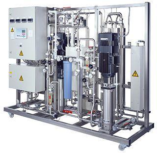 Hemodialysis water treatment plant / double reverse osmosis hercopur Herco Wassertechnik GmbH