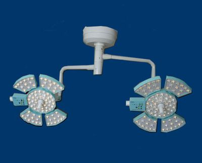 LED surgical light / ceiling-mounted / 2-arm 2 x 130 000 lux | SPARX-LED 04-05 HARDIK MEDI-TECH