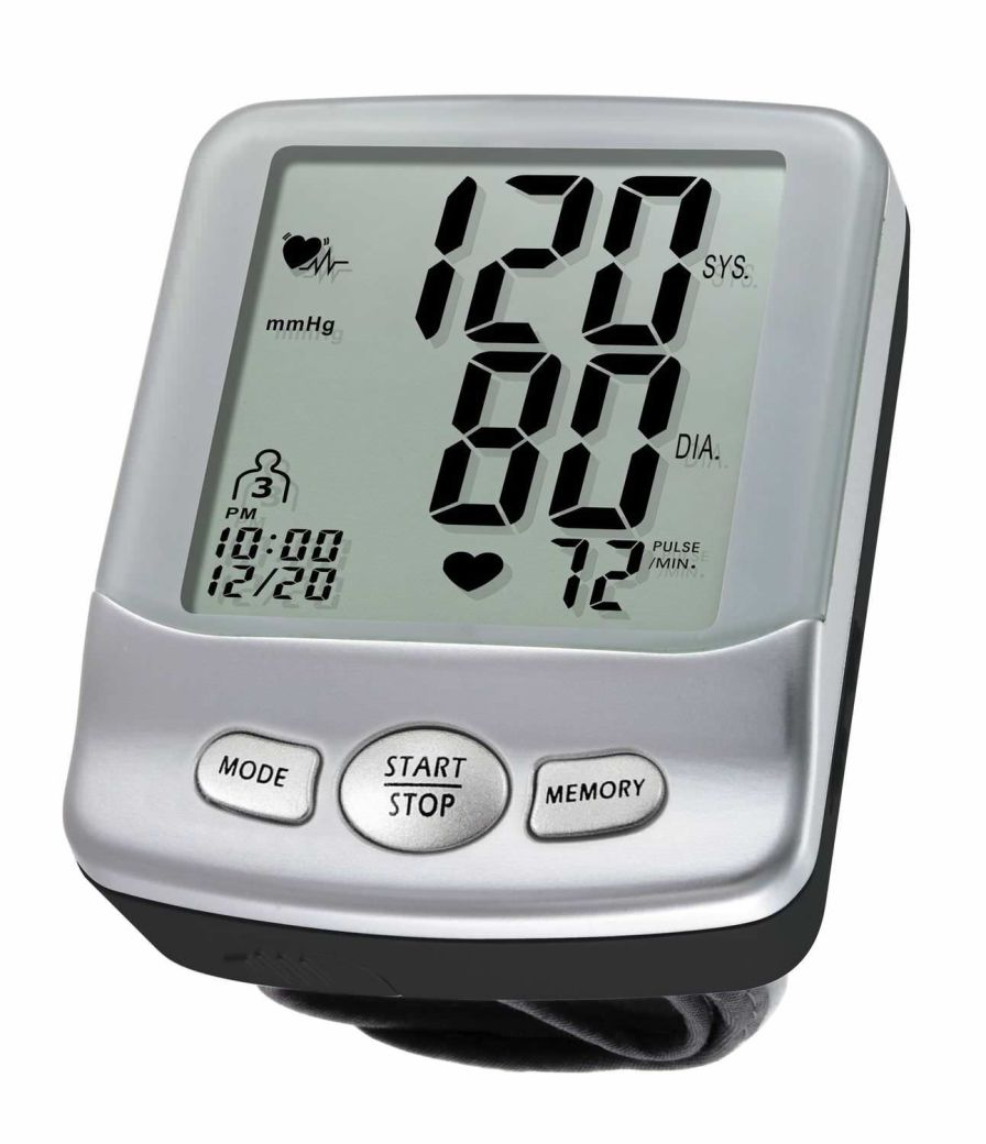 Automatic blood pressure monitor / electronic / wrist 0 - 300 mmHg, 40 - 199 bpm | HL168KD HEALTH & LIFE