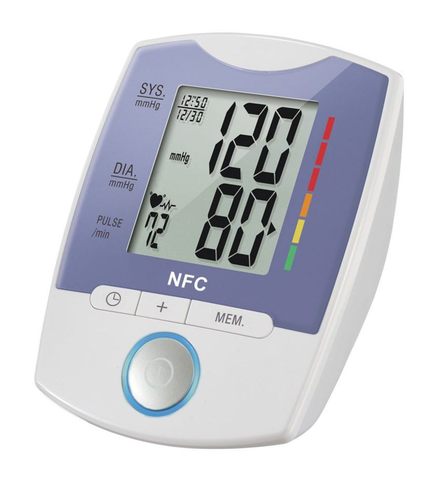 Automatic blood pressure monitor / electronic / arm 0 - 300 mmHg, 40 - 199 bpm | HL858GB HEALTH & LIFE