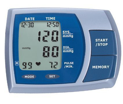 Automatic blood pressure monitor / electronic / arm 0 - 280 mmHg, 40 - 199 bpm | HL888HA HEALTH & LIFE