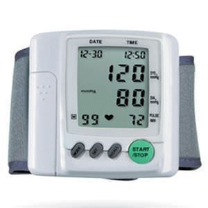 Automatic blood pressure monitor / electronic / wrist HL168F HEALTH & LIFE