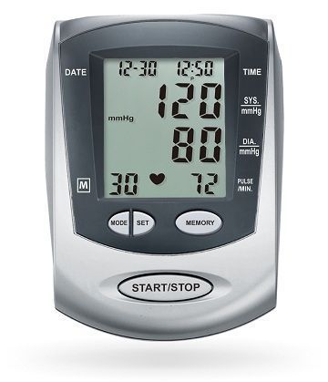 Automatic blood pressure monitor / electronic / arm HL888GF HEALTH & LIFE