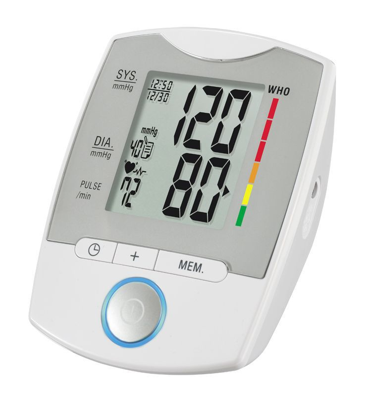 Automatic blood pressure monitor / electronic / arm / with USB port 0 - 280 mmHg, 40 - 199 bpm | HL858GA HEALTH & LIFE