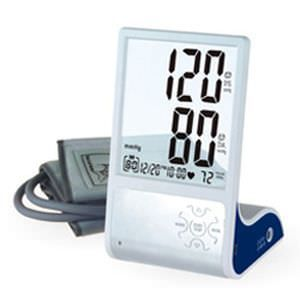 Automatic blood pressure monitor / electronic / arm HL868BF HEALTH & LIFE