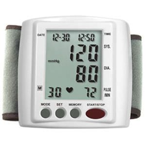 Automatic blood pressure monitor / electronic / wrist HL168DA HEALTH & LIFE