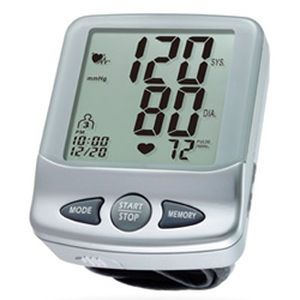 Automatic blood pressure monitor / electronic / wrist HL168KB HEALTH & LIFE