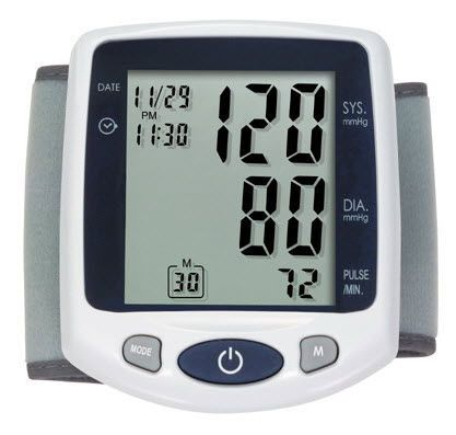 Automatic blood pressure monitor / electronic / wrist HL168ZA HEALTH & LIFE