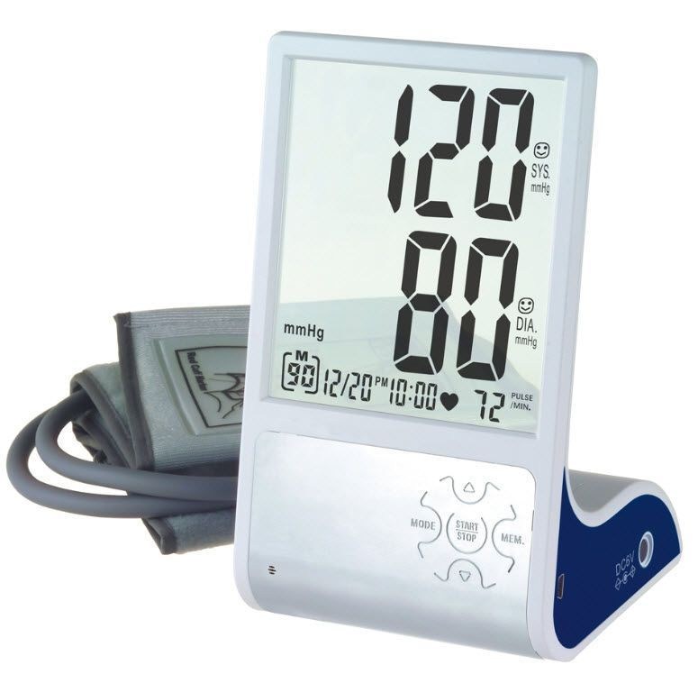 Automatic blood pressure monitor / electronic / arm 0 - 280 mmHg, 40 - 199 bpm | HL868BA HEALTH & LIFE