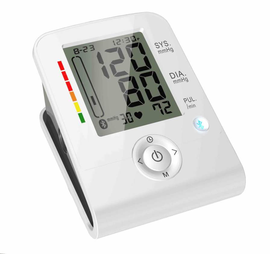 Automatic blood pressure monitor / electronic / arm 0 - 280 mmHg, 40 - 199 bpm | HL858DA HEALTH & LIFE