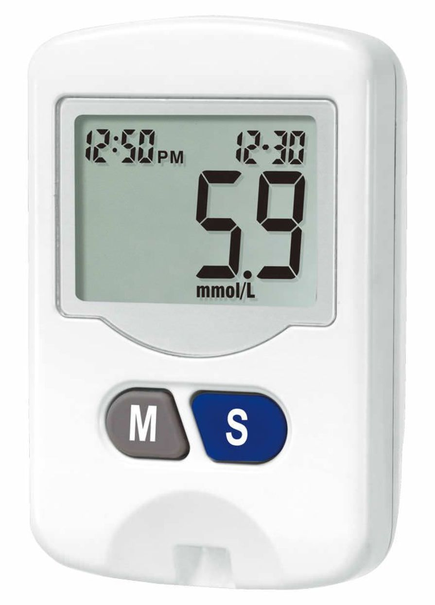 Blood glucose meter HL568CA HEALTH & LIFE