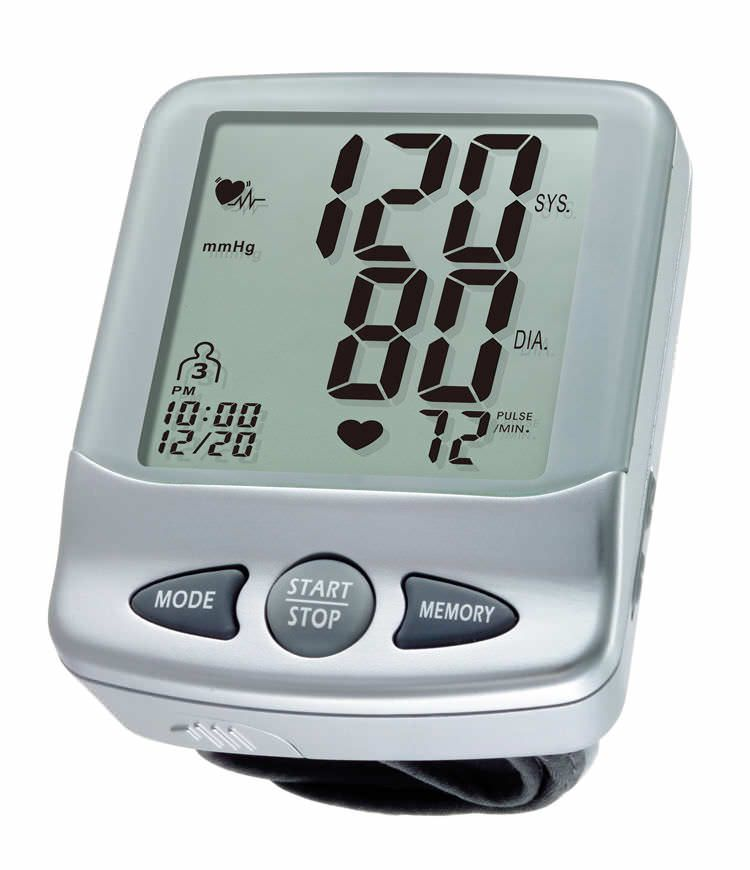 Automatic blood pressure monitor / electronic / wrist 0 - 300 mmHg, 40 - 199 bpm | HL168KA HEALTH & LIFE