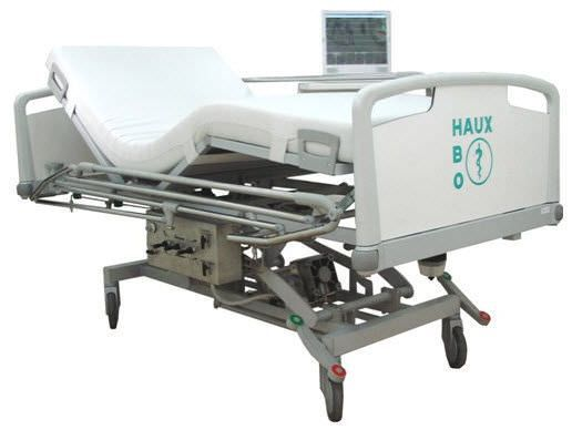 Pneumatic bed / height-adjustable / 4 sections HAUX-PATIENT-BED HAUX Life Support
