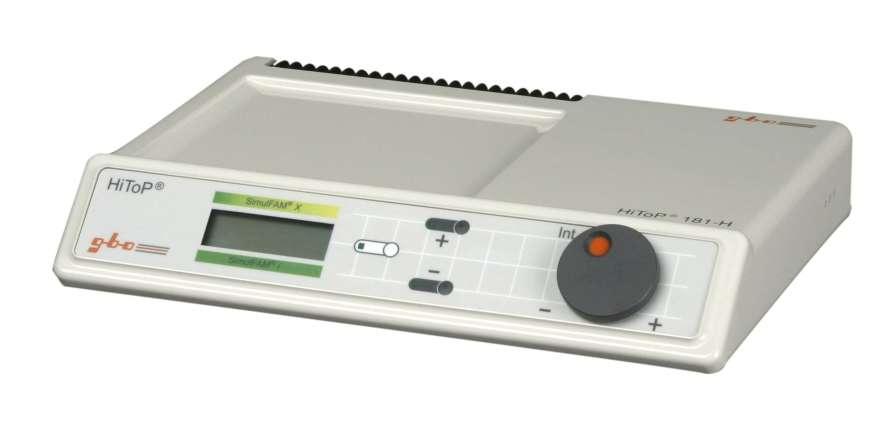 Electro-stimulator (physiotherapy) / 1-channel HITOP 181 H gbo Medizintechnik AG