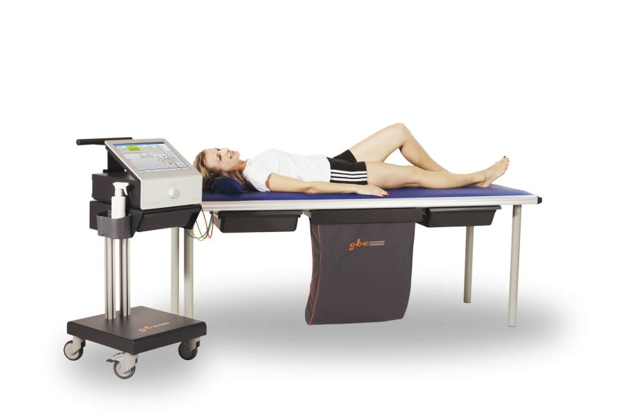 Electro-stimulator (physiotherapy) / 4-channel HiToP® 4 touch gbo Medizintechnik AG