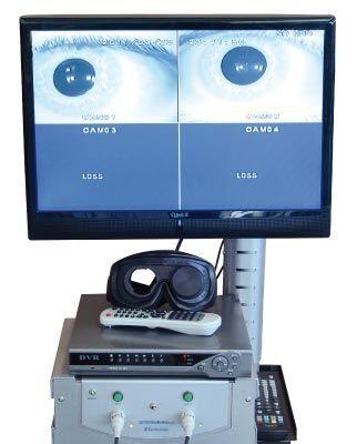 Videonystagmography system vestibular disorder testing system VNYS ED610 EUROCLINIC