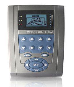 Ultrasound diathermy unit (physiotherapy) / 1-channel MEDISOUND 3000 Globus Italia